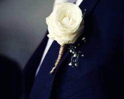 Button Hole Flower - BH37