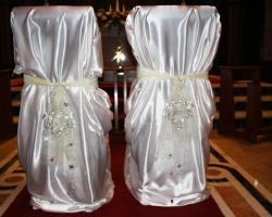 Bride & Groom Seat Covers - R26