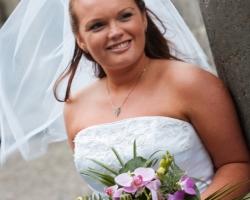 Purple Bridal Bouquet B11