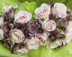 Mauve Wedding Bouquet - B20