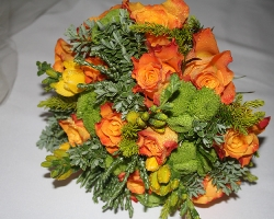 Orange Bouquet - B24