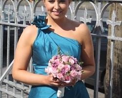 Pink Bridesmaid Bouquet - B78