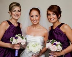 Pink Bridesmaids Bouquets - B77