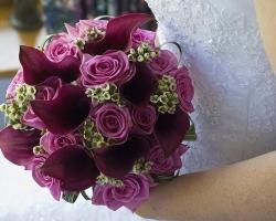 Roses Purple Bouquet - B74