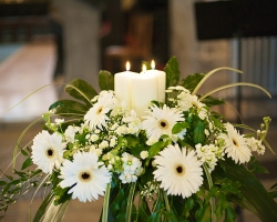 Candles & Flowers - C65