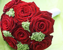Christmas Wedding Flowers - X13