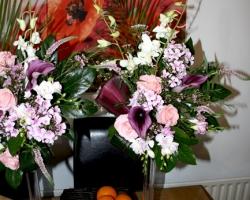 Christmas Wedding Flowers - X22