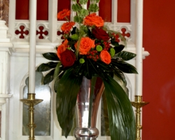 Church Wedding Flowers - C19