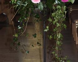 Pink Hotel Wedding Flowers - C79