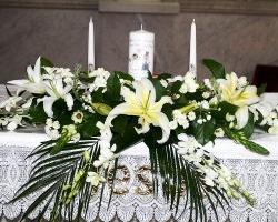 Church Wedding Flowers - C72