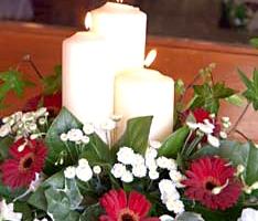 Church Wedding Flowers - C40