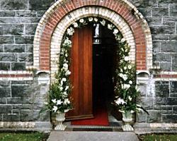 Floral Door Arch - R25