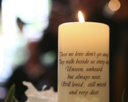 Rememberence Candles - C91