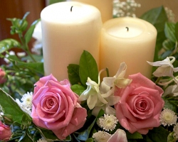 Pink Altar Flowers - C35