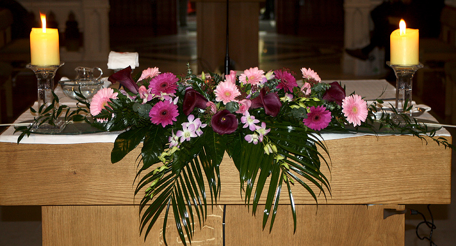 Church Wedding Flowers C27