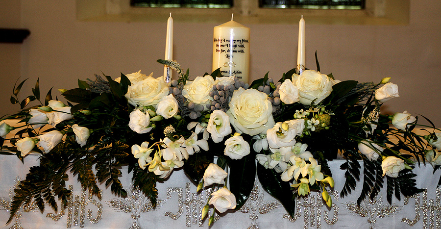 Church Wedding Flowers C23