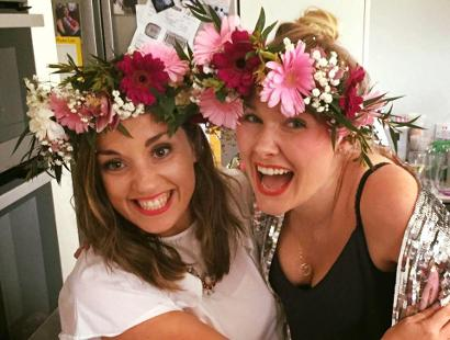 Flower Crowns at Hen Party (H22)
