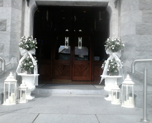 Wedding Door Lanterns