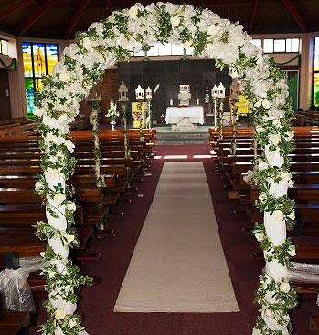 413 Wedding Arch