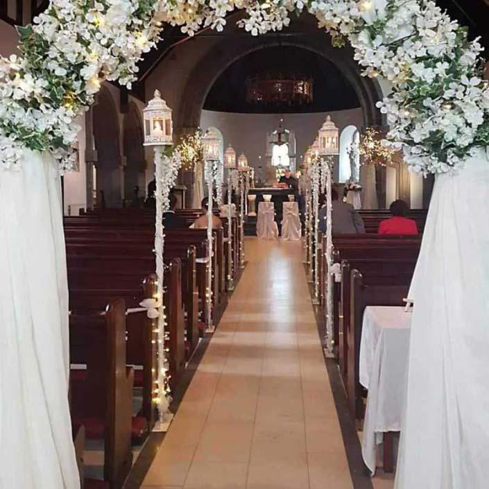 Wedding Floral Arch by Wedding Flowers Galway